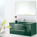 Green Glass Vanity | Topex Hardware