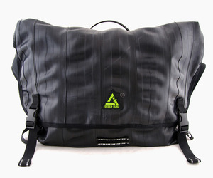 Green Guru, Recycled Bike Tube Messenger Bag