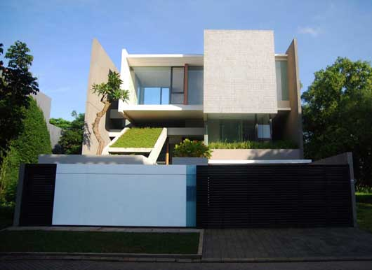 green home design.  Green Home Design Of Tan Residence