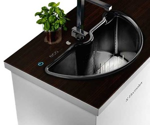 Green Sink and Dishwasher by ahhaproject