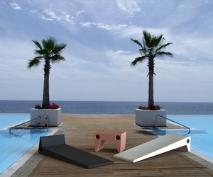 Grupohewi  DOT daybed  and side table