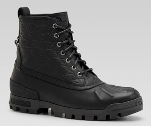 Gucci Lace-Up Boots