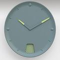 Guichet Clock by Inga Sempé