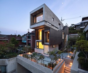 H-House in Seoul by bang by min