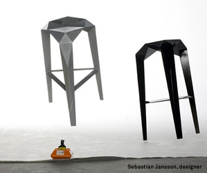 Habitus stool by Sebastian Jansson