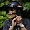 Half Skull Face Mask