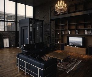Halloween Inspired Dark Interiors