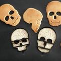 Halloween Skull Pancake Molds