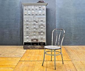 Halston Mercantile Vintage Industrial File Vault Cabinet