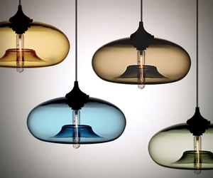 Hand Blown Pendant Lights by Niche Modern