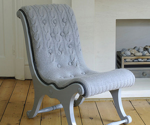 Hand-Knit Sweater Chairs