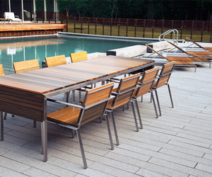 Hand Made Outdoor Furniture by Edwin Blue