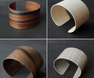 Hand-made Wood Cuffs