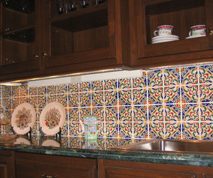 Hand Painted Decorative Spanish Tile