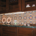 Hand-Painted Decorative Spanish Tile