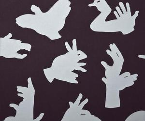Hand Shadow Wallpaper