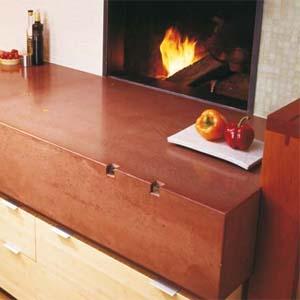 Handcrafted Concrete Countertops