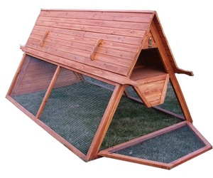 Handcrafted Portable Chicken Coop