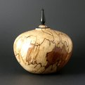 Handmade Spalted Maple Vessel
