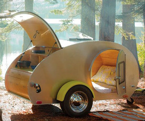 Handmade Teardrop Trailer