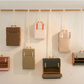 Hanger Suitcases by Lotty Lindeman