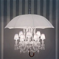 Hanging Lamp with Umbrella Beautiful