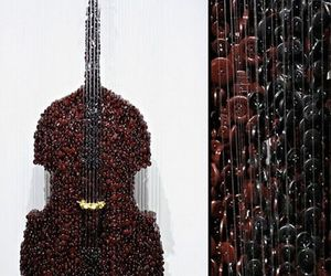 Hanging Sculptures by Augusto Esquivel