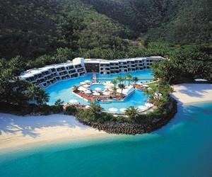 Hayman Hotel on an Australian Island