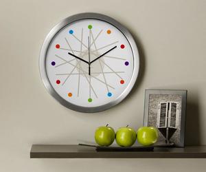 haywire modern wall clock