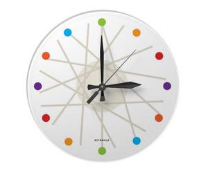 haywire wall clock by dzynwrld