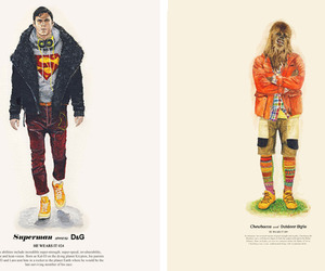 'He Wears It' Fashion Heroes by John Woo