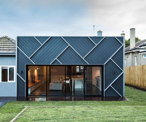Herringbone house in Melbourne