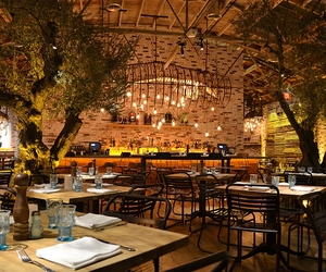 Herringbone Restaurant, La Jolla, CA by Schoos Design