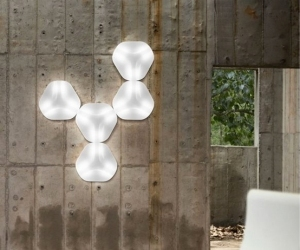 Hexagonal Wall Lamp
