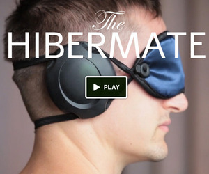 Hibermate Sleeping eye mask and earmuffs