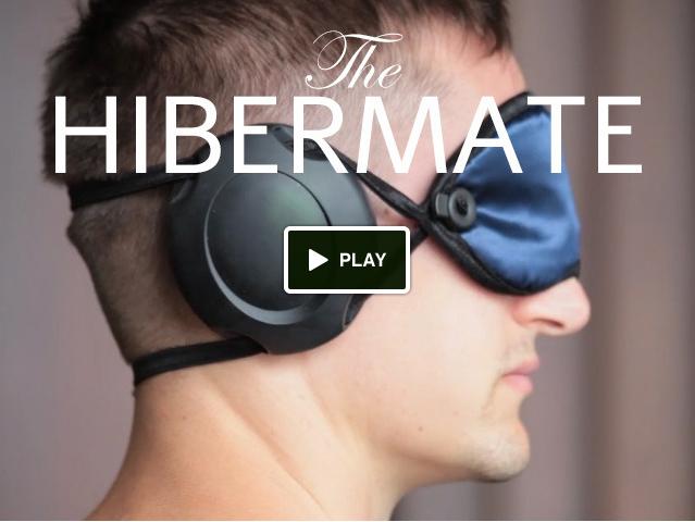 Hibermate Sleeping Eye Mask And Earmuffs