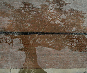 Hidden Mural Reveals Itself When it Rains | Adam Nilewicz