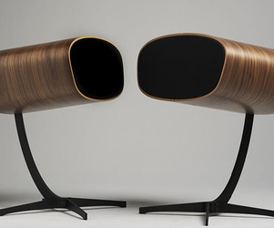 High End Loudspeakers Inspired By The Eames Lounge