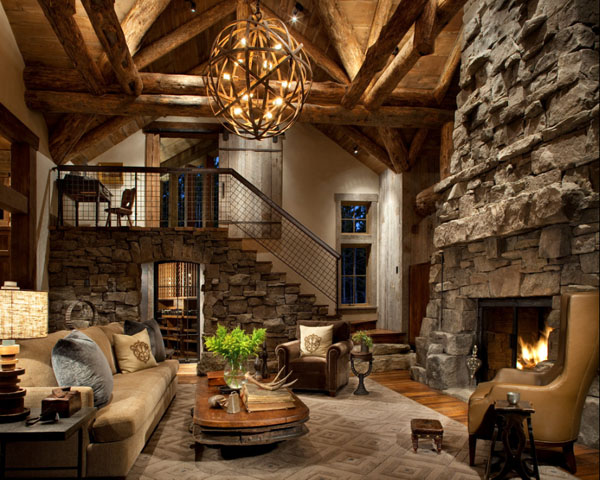 Beautiful Interieur De Chalet Ideas - Design Trends 2017 ...