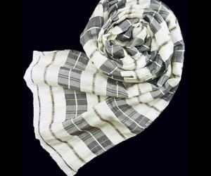 Highland Charcoal Check Scarf