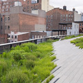 Highline Rail Right-of-Way turned Urban Park