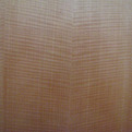Highly Figured Bookmatched Anigre Veneer in Custom Cabinetry