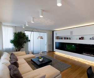 Highly Modern Apartment Design in Russia