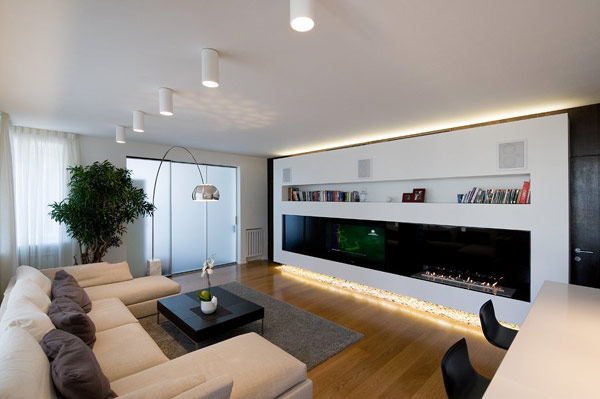 Modern Apartment highly modern apartment design in russia