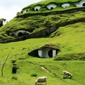 Hobbiton Village in New Zealand