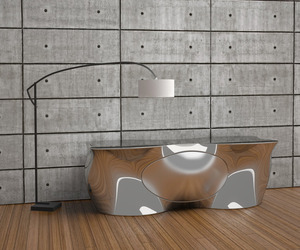 Holey Console Table