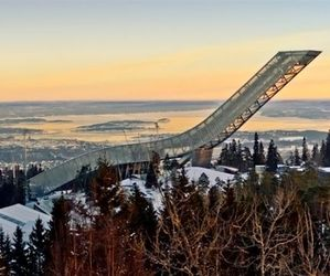 Holmenkollen is The World's Most Modern Ski Jump