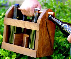 Home Brew Beer Bottle Carrier
