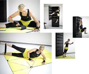 Home Fitness by Lucie Koldová