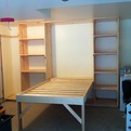 Home-made Murphy Bed For the Garage